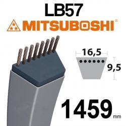 Courroie LB57 - 531005564 - Largeur 16.7mm x Longueur Extérieur 1460mm