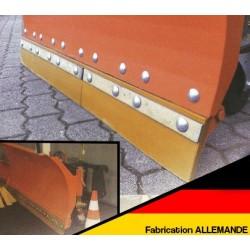 Bande d'usure pour lames à neige - 1000 x 100 x 20 mm - Qualité professionnelle - Fabrication Allemande Tracteur Tondeuse Autopo