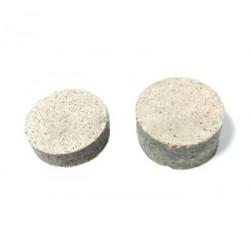 Plaquettes de frein ronde diamètre 28 mm Epaisseur 7 et 14 mm