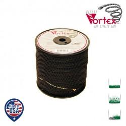 Bobine fil nylon hélicoïdal copolymère VORTEX  - 2.40mm x 208m - Qualité professionnelle - Fabrication américaine