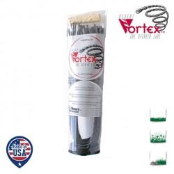 Tube 20 fils nylon hélicoïdal copolymère VORTEX  - 2.40mm x 41cm - Qualité professionnelle - Fabrication américaine