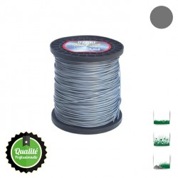 Coque fil nylon bi-composant OZAKI Alu Line  - 2mm x 126m - Qualité professionnelle