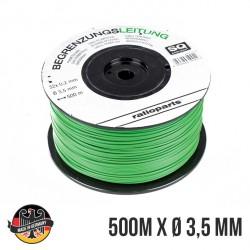 Câble périmétrique SABO SAU11670 - SAU12589 pour robot tondeuse 250 mètres diamètre 2,1 mm - Fabrication allemande