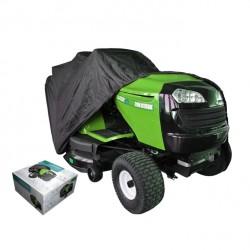 Housse de protection 177 x 110 x 110 cm pour tracteur tondeuse autoportée