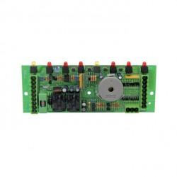 Platine électronique 8 fonctions avec fusible CASTELGARDEN 25722407/0