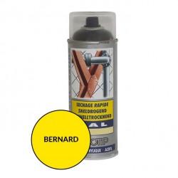 Peinture spéciale motoculture couleur JAUNE BERNARD LOISIRS - Aérosol 400ml