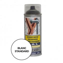 Peinture spéciale motoculture couleur BLANC STANDARD - Aérosol 400ml