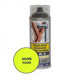 Peinture spéciale motoculture couleur JAUNE FLUO - Aérosol 400ml