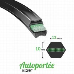 Courroie de coupe ALKO T12.5-102RD