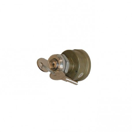 Contacteur à clé universel 3 positions - branchement 4 bornes - diamètre montage 19,05mm