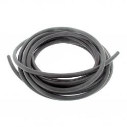Durite carburant noire en caoutchouc longueur 5m diamètre extérieur 10mm - intérieur 4,5mm