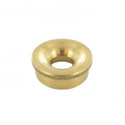 Oeillet tête fil nylon - épaisseur 5,9mm - diamètre 15,87 - 13,9mm