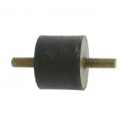 Silent bloc universel mâle-mâle - diamètre 50mm - Longueur 40mm - Filet M10 - Longueur filet 27mm