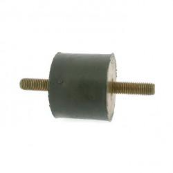 Silent bloc universel mâle-mâle - diamètre 65mm - Longueur 50mm - Filet M12 - Longueur filet 37mm