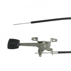 Commande d'accélération GRAVELY 21196 - longueur câble 1152mm longueur gaine 1066mm