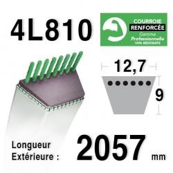 COURROIE KEVLAR 4L810 - 4L81 - AYP/ROPER - BERNARD LOISIRS 108103 X - 134461 X -140294 - HUSQVARNA 532140294 - 531013140