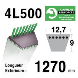 COURROIE KEVLAR 4L500 - 4L50 - AYP / ROPER 110975 - MURRAY 37 x 44