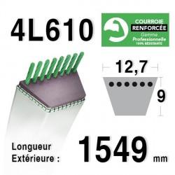 COURROIE KEVLAR 4L610 - 4L61 - TORO 27199 - SNAPPER 2-3710