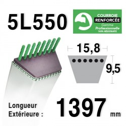 COURROIE KEVLAR 5L550 - 5L55 - MTD 754144 / 90-47-954
