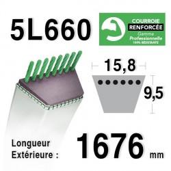 COURROIE KEVLAR 5L660 - 5L66 - MTD 7540127 / 90-47-230 / 75404211