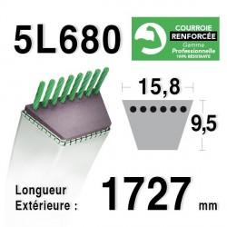 COURROIE KEVLAR 5L680 - 5L68 - MTD 7540364 / 7540626