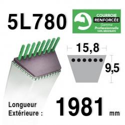 COURROIE KEVLAR 5L780 - 5L78 - AMF/NOMA 57298 - 141502 -  300680