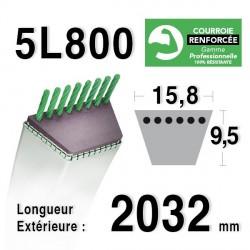 COURROIE KEVLAR 5L800 - 5L80 - AMF / NOMA 308701