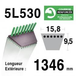 COURROIE KEVLAR 5L530 - 5L53 - HONDA 76181-772-202 - AYP 6565C3