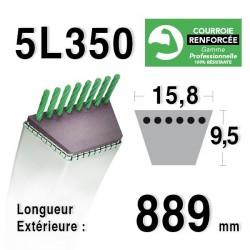 COURROIE KEVLAR 5L350 - 5L35 - MTD 7540241 - 754-0241A