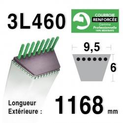 Courroie 9.5mm x 1168mm - 3L46 - KEVLAR