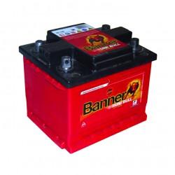 Batterie 12V 69A/H 4 bornes coniques réversibles BANNER 50342-1 - 50342-2 503421 - 503422