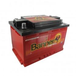 Batterie 12V 80A/H 4 bornes coniques réversibles BANNER 50342 - 60095-2