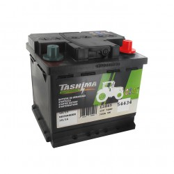 Batterie 12V 50A/H - borne + à droite - TASHIMA
