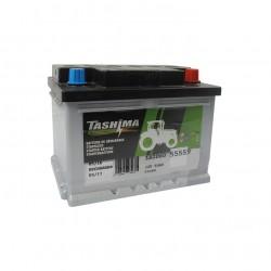 Batterie 12V 55A/H - borne + à droite - TASHIMA