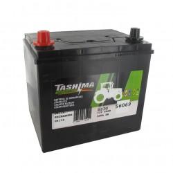 Batterie 12V 60A/H - borne + à gauche - TASHIMA