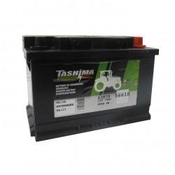 Batterie 12V 70A/H - borne + à droite - TASHIMA