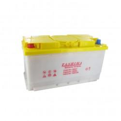 Batterie 12V 105A/H - borne + à gauche - TASHIMA pour modèles KUBOTA