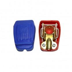 Cosse de batterie à clipser pour borne conique négative