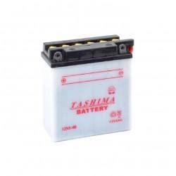 Batterie 12N54B + à gauche