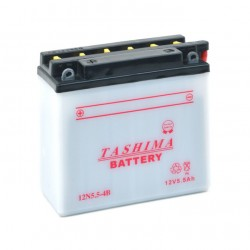 Batterie 12N554B + à gauche