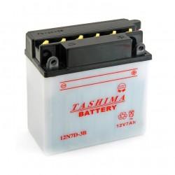 Batterie 12N7D3B + à droite