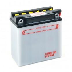 Batterie 12N93B + à droite
