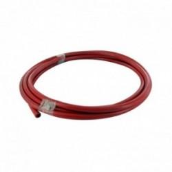 Câble batterie rouge UNIVERSEL 6 conducteurs - longueur 3 m