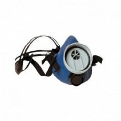 Demi masque de protection respiratoire UNIVERSEL sans filtre pour filtre à vis - Norme EN140