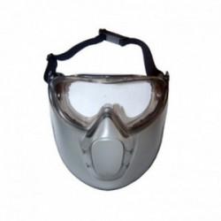 Lunettes et masque de sécurité en polycarbonate UNIVERSELLE - Norme EN166
