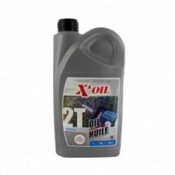 Huile moteur 2 temps 2L X'OIL minérale API TC
