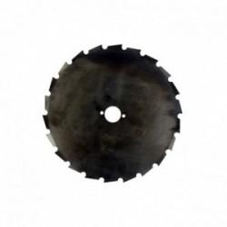Lame 24 dents maxi 225mm UNIVERSELLE pour débroussailleuse