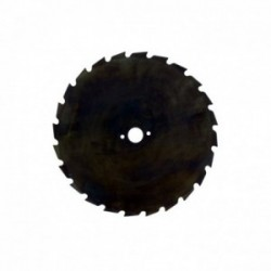 Lame 24 dents maxi 225mm - 20mm UNIVERSELLE pour débroussailleuse