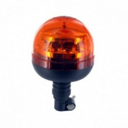 Gyrophare LED 10-30V - 36W sur tige flexible