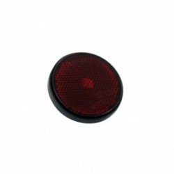 Catadioptre rond rouge diamètre60 mm